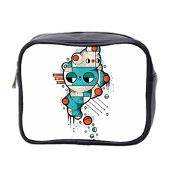 Muscle cat Mini Travel Toiletry Bag (Two Sides)