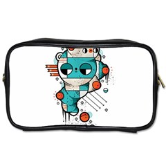 Muscle cat Travel Toiletry Bag (Two Sides)