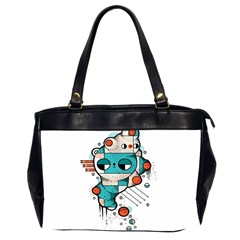 Muscle cat Oversize Office Handbag (Two Sides)