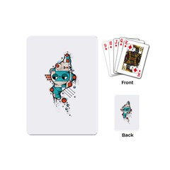 Muscle cat Playing Cards (Mini)