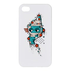 Muscle cat Apple iPhone 4/4S Hardshell Case