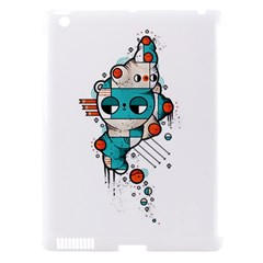Muscle cat Apple iPad 3/4 Hardshell Case (Compatible with Smart Cover)