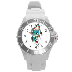 Muscle cat Plastic Sport Watch (Large)