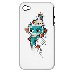 Muscle cat Apple iPhone 4/4S Hardshell Case (PC+Silicone)