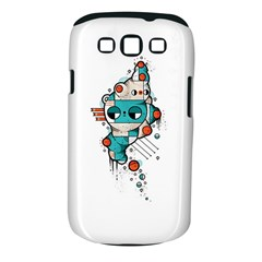 Muscle Cat Samsung Galaxy S Iii Classic Hardshell Case (pc+silicone)