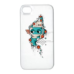 Muscle cat Apple iPhone 4/4S Hardshell Case with Stand
