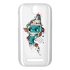 Muscle cat HTC One SV Hardshell Case