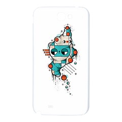 Muscle cat Samsung Note 2 N7100 Hardshell Back Case