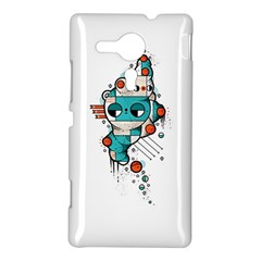 Muscle cat Sony Xperia Sp M35H Hardshell Case