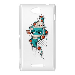 Muscle cat Sony Xperia C (S39h) Hardshell Case
