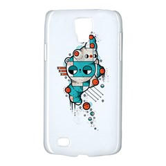 Muscle cat Samsung Galaxy S4 Active (I9295) Hardshell Case