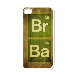 Br Ba Apple iPhone 4 Case (White)