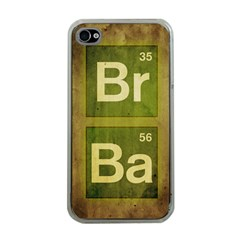 Br Ba Apple Iphone 4 Case (clear)