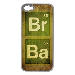 Br Ba Apple Iphone 5 Case (silver)