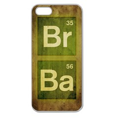 Br Ba Apple Seamless iPhone 5 Case (Clear)