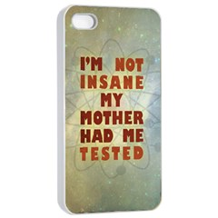 I m not insane Apple iPhone 4/4s Seamless Case (White)