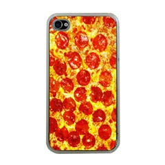 Pizza Apple iPhone 4 Case (Clear)