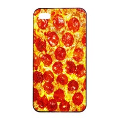 Pizza Apple Iphone 4/4s Seamless Case (black)