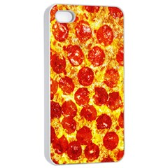 Pizza Apple Iphone 4/4s Seamless Case (white)