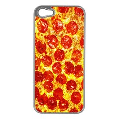 Pizza Apple Iphone 5 Case (silver)