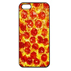 Pizza Apple iPhone 5 Seamless Case (Black)