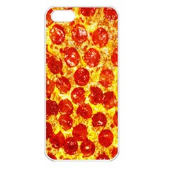 Pizza Apple iPhone 5 Seamless Case (White)