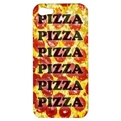 Pizza Pizza Pizza Pizza Apple iPhone 5 Hardshell Case