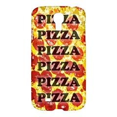 Pizza Pizza Pizza Pizza Samsung Galaxy S4 I9500/I9505 Hardshell Case