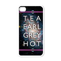 Tea, Earl Grey, Hot Apple iPhone 4 Case (White)
