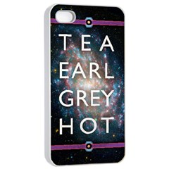 Tea, Earl Grey, Hot Apple iPhone 4/4s Seamless Case (White)