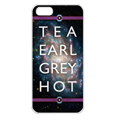 Tea, Earl Grey, Hot Apple iPhone 5 Seamless Case (White)