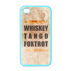 W T F Apple Iphone 4 Case (color)