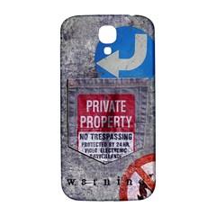 warning Samsung Galaxy S4 I9500/I9505  Hardshell Back Case