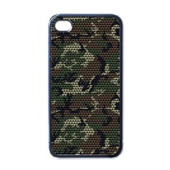 make love not war Apple iPhone 4 Case (Black)