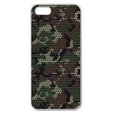 make love not war Apple Seamless iPhone 5 Case (Clear)