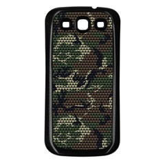 Make Love Not War Samsung Galaxy S3 Back Case (black)