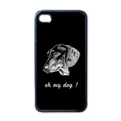 oh my dog ! Apple iPhone 4 Case (Black)