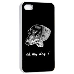 Oh My Dog ! Apple Iphone 4/4s Seamless Case (white)