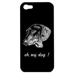 Oh My Dog ! Apple Iphone 5 Hardshell Case