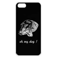 oh my dog ! Apple iPhone 5 Seamless Case (White)