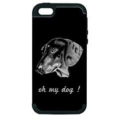 oh my dog ! Apple iPhone 5 Hardshell Case (PC+Silicone)