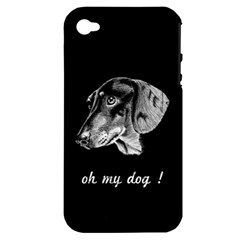 oh my dog ! Apple iPhone 4/4S Hardshell Case (PC+Silicone)