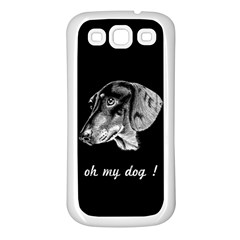 Oh My Dog ! Samsung Galaxy S3 Back Case (white)
