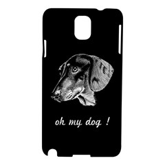 oh my dog ! Samsung Galaxy Note 3 N9005 Hardshell Case