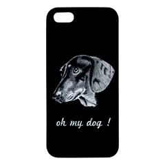 oh my dog ! iPhone 5S Premium Hardshell Case