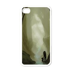 Fearless Apple iPhone 4 Case (White)