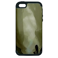 Fearless Apple Iphone 5 Hardshell Case (pc+silicone)