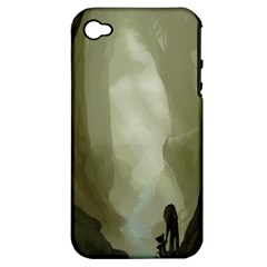 Fearless Apple iPhone 4/4S Hardshell Case (PC+Silicone)
