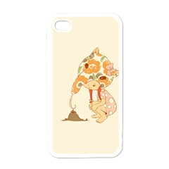 Anita Apple Iphone 4 Case (white)