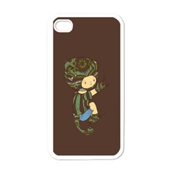 Charlie Apple iPhone 4 Case (White)